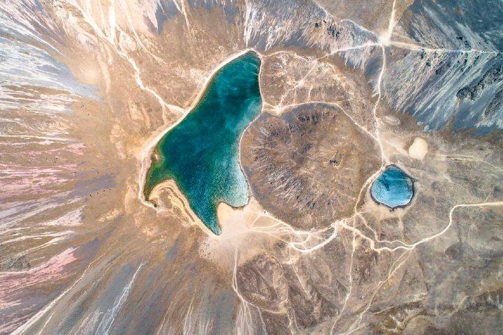 El Cerro del ombligo, impresionante foto aérea. Foto: Archivo