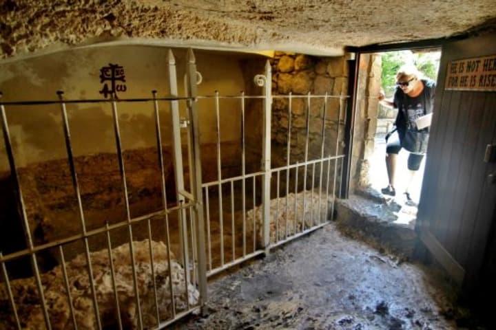 El interior de la Tumba del Jardín. Foto: EP