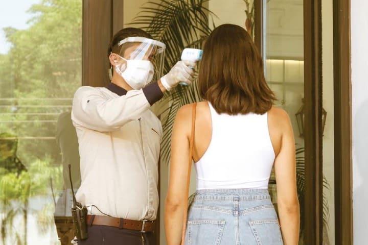 En el hotel se toman las medidas sanitarias adecuadas para garantizar la salud de todos Foto Hotel Solar de las Ánimas