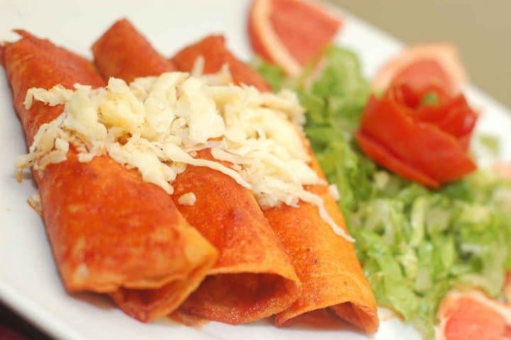 Enchiladas Zacatecanas. Foto de Redes