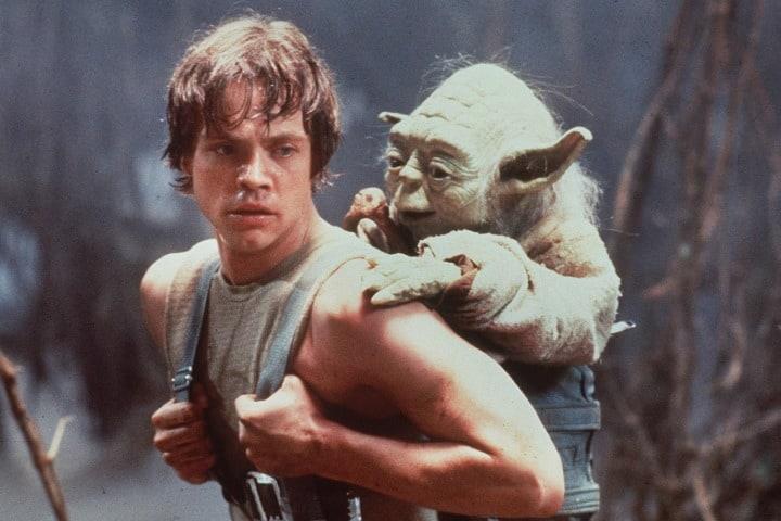 Entrenamiento de Luke Skywalker. Foto: Rock&Pop