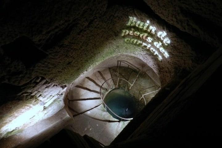 Escaleras de las catacumbas. Foto: El Primer Paso
