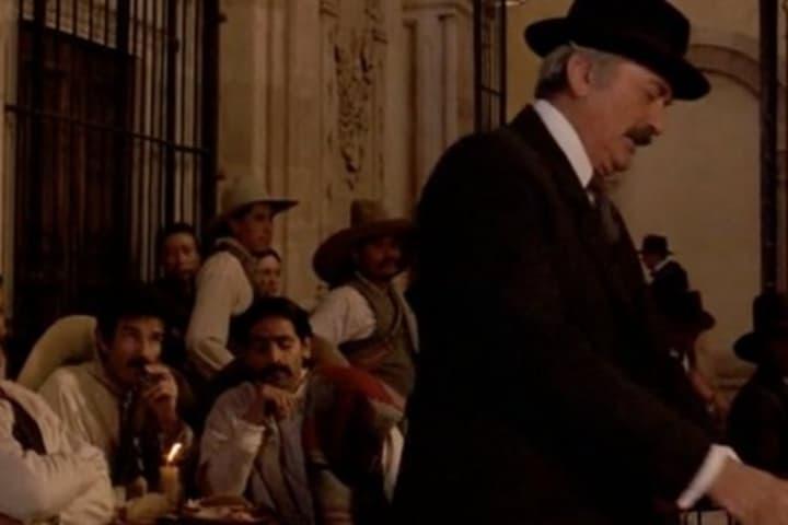 """Escena de """"Gringo Viejo"""" grabada en la capital de Zacatecas. Foto: Just Play"""