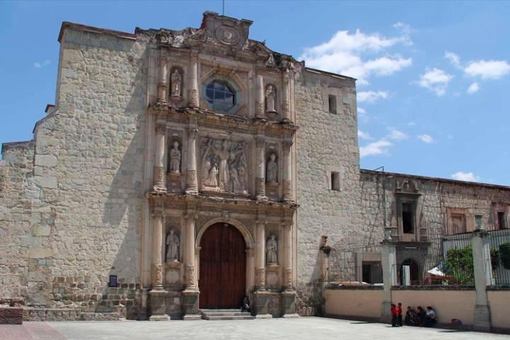 Ex convento de San Agustín. Foto: Ciudadespatrimonio