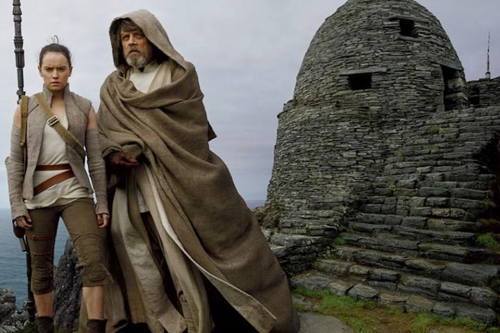 Exilio de Luke en Skellig Michael Saga Star Wars.