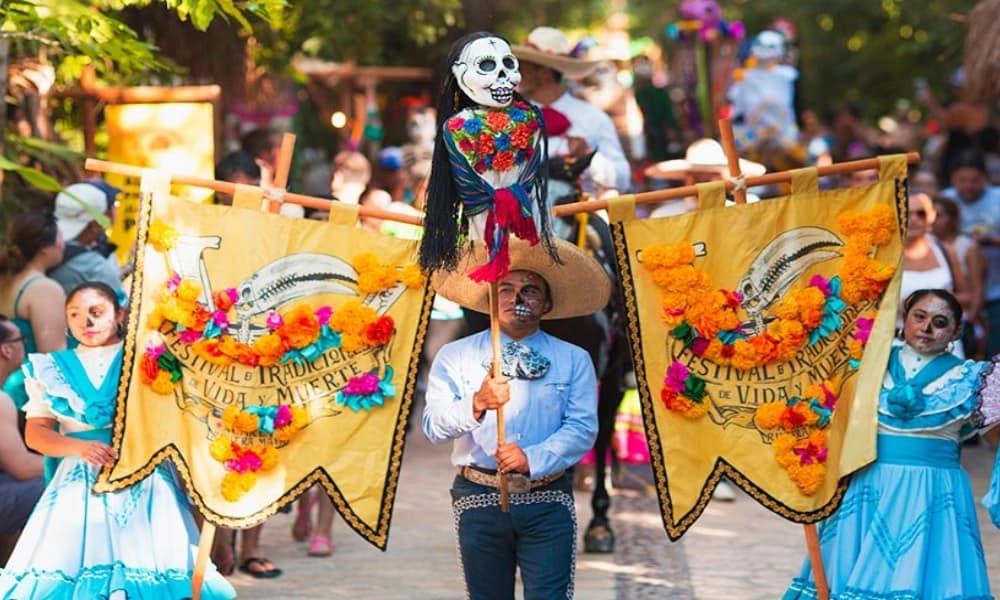 Fiestas y ferias en Xcaret Foto: Archivo