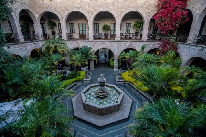 Este hotel es una gran opción dónde hospedarse en Morelia Foto: Hotel de la Soledad