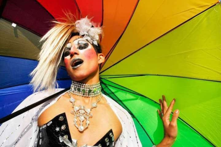 Foto del ganador del Pasaporte Rainbow de Aeromar Foto Archivo