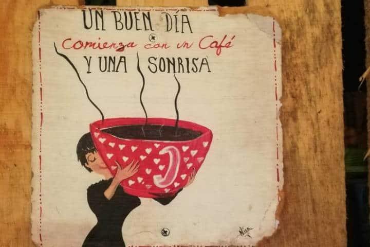 Frases de café en pueblos – Foto Luis Juárez J.