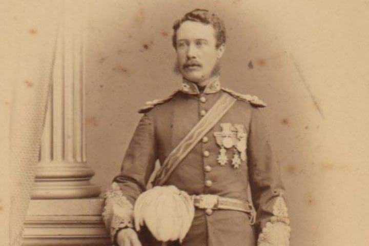Él es el General Charles Gordon, Foto: Militar Images.