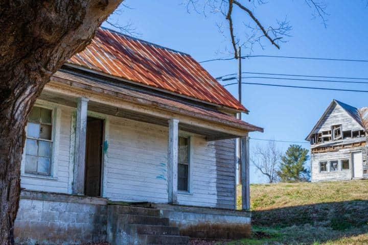 Casa de un habitante de Henry River Mill Village. Foto: Visit USA.