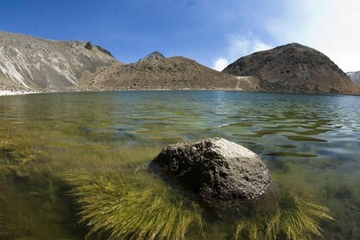 Hermosas vistas que te regalan las Lagunas del Sol y la Luna. Foto: Pinterest