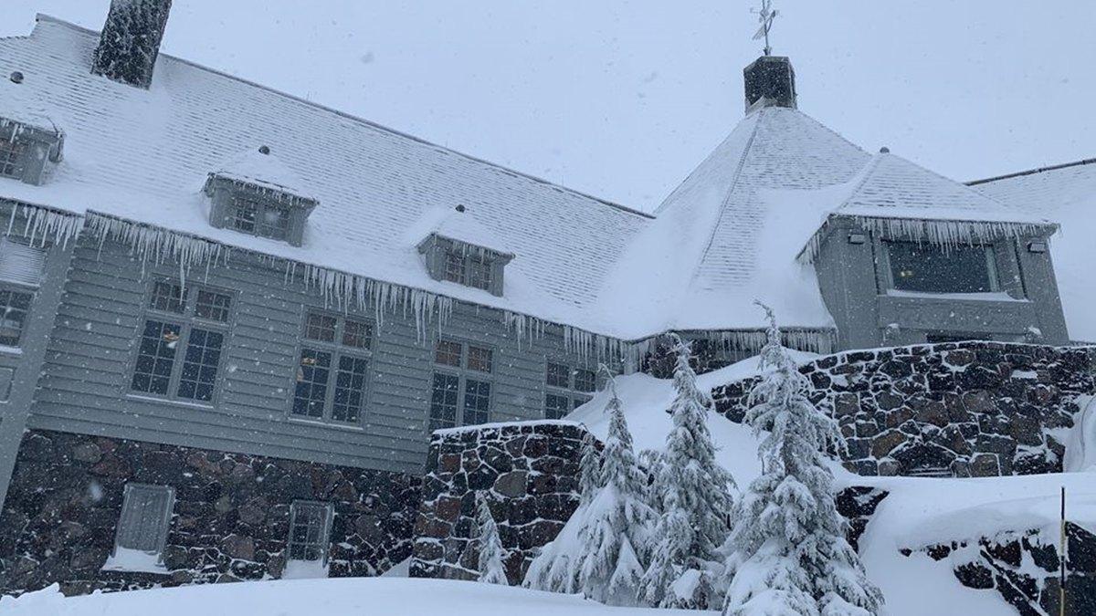 Hotel Timberline Lodge portada.