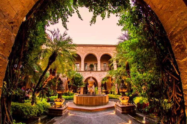 Hotel de la Soledad, Morelia. Foto: Conde Nast Travel