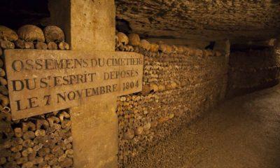 Huesos del cementerio. Foto: París