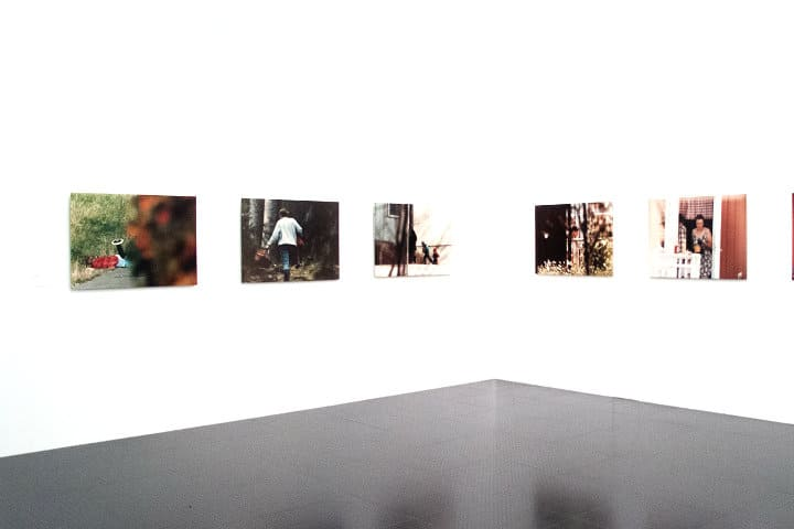 Instalación de la exposición Ulf Lundin