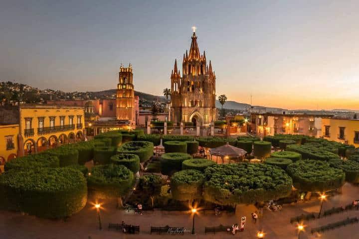 Jardín Principal. Foto: Miguel Angel Victoria.