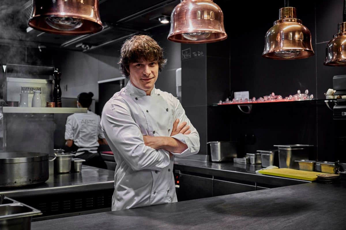 Jordi Cruz de AbaC, Restaurante de España – Foto Zelari