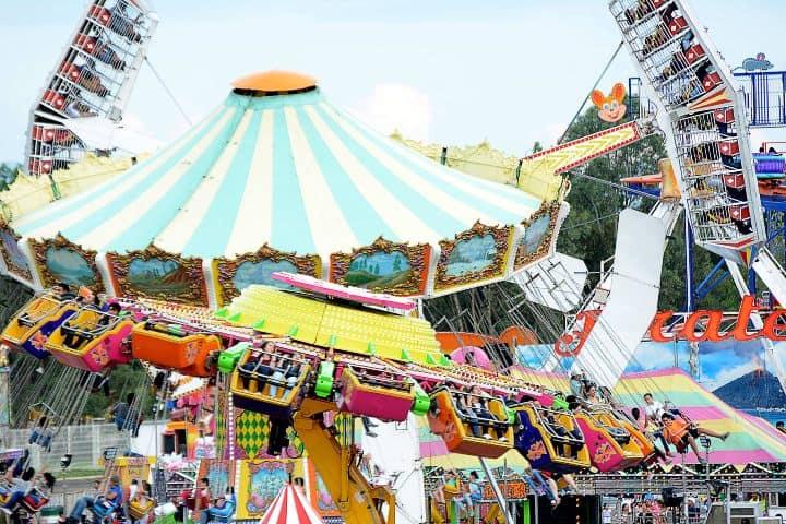 Juegos mecánicos Foto: Feria Nacional de Durango