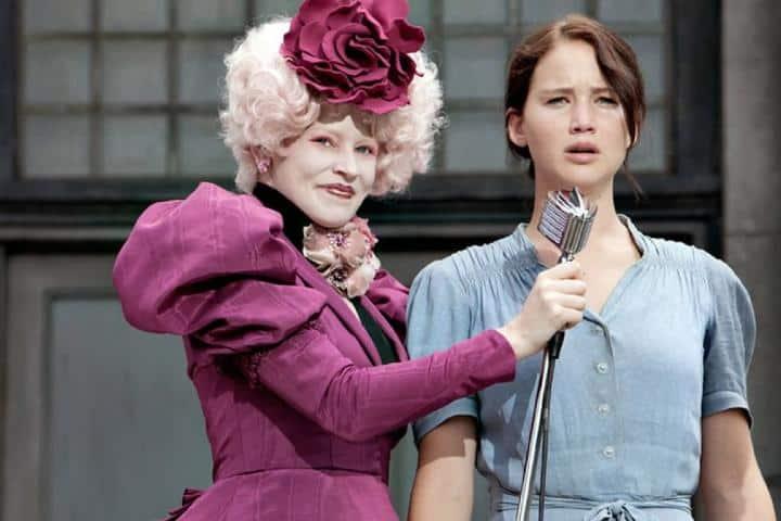 Katniss se ofrece como tributo en lugar de su hermana. Foto: Espinof.