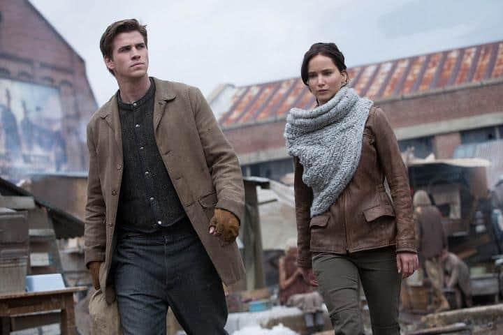 Katniss en Distrito 12. Foto: Retales de un idilio.