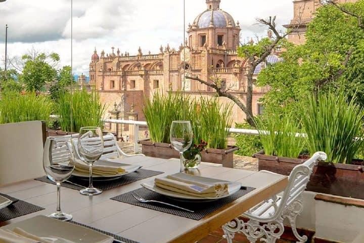 La azotea Foto: Hotel Los Juaninos