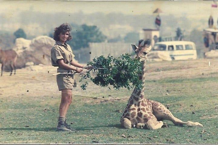 La historia de Africam Safari es refleja en el esfuerzo de sus primeros días Foto Africam Safari | Facebook