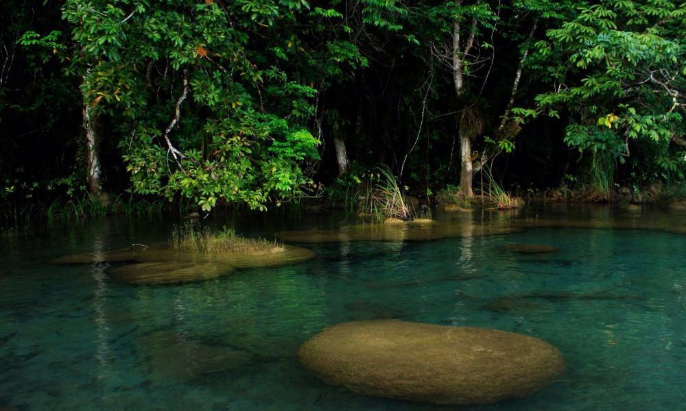 Laguna Miramar. Foto: Pinterest