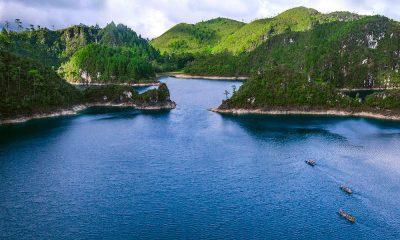 Lagunas de Montebello. Foto: Aventura Vertical