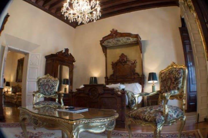 Las habitaciones del hotel son sinónimo de elegancia Foto Hotel Virrey de Mendoza
