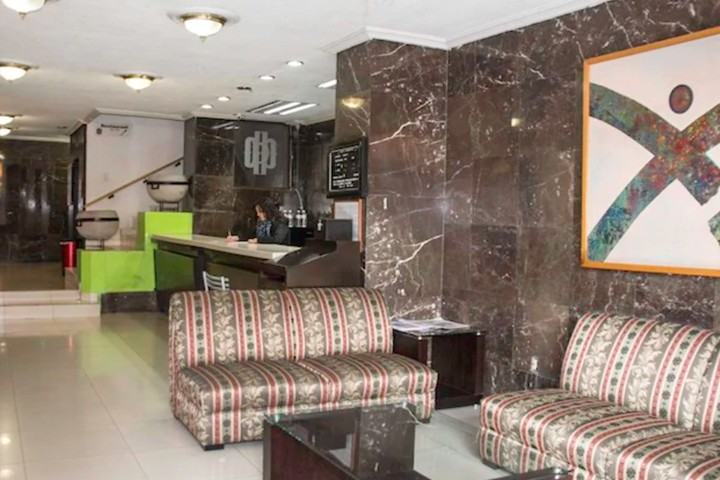 Lobby Hotel Durango Foto Hotel Durango.
