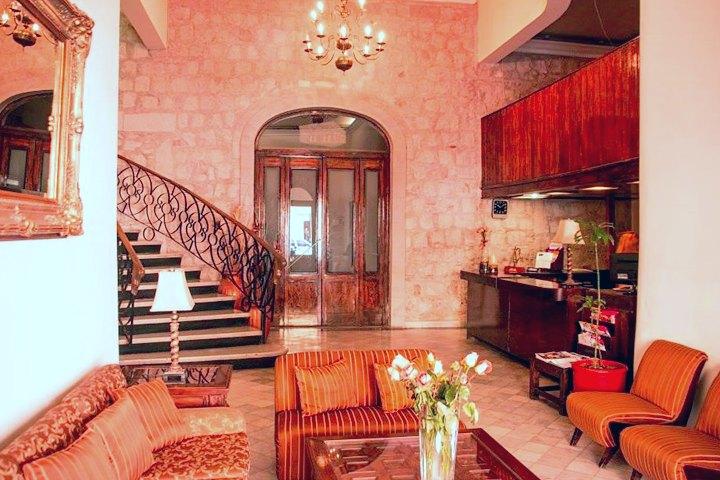 Lobby Hotel Roma Foto Hotel Roma Fb.