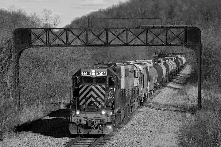 Locomotora 3046. Foto: Pinterest