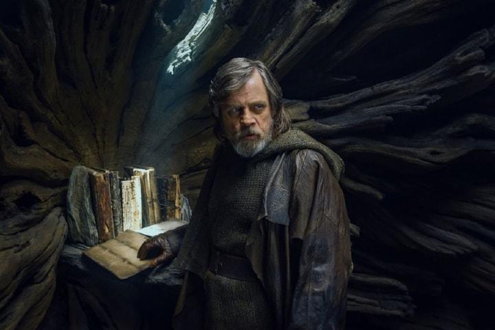 Los textos sagrados de los Jedis. Foto: La Tercera.