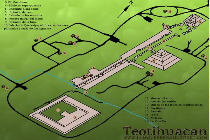 Mapa Foto: Luis Guerrero