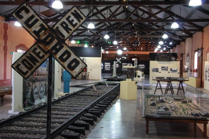 Museo Ferrocarrilero. Foto: Pinterest