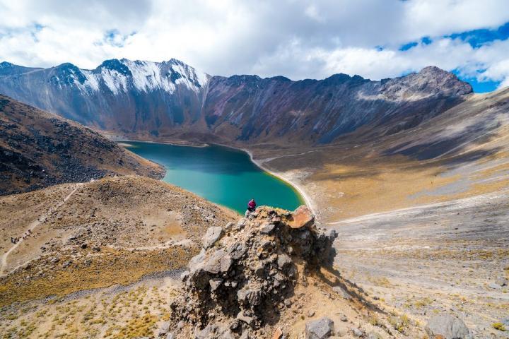 En el Nevado de Toluca se encuentran las Lagunas del Sol y la Luna Foto: Rincones de México
