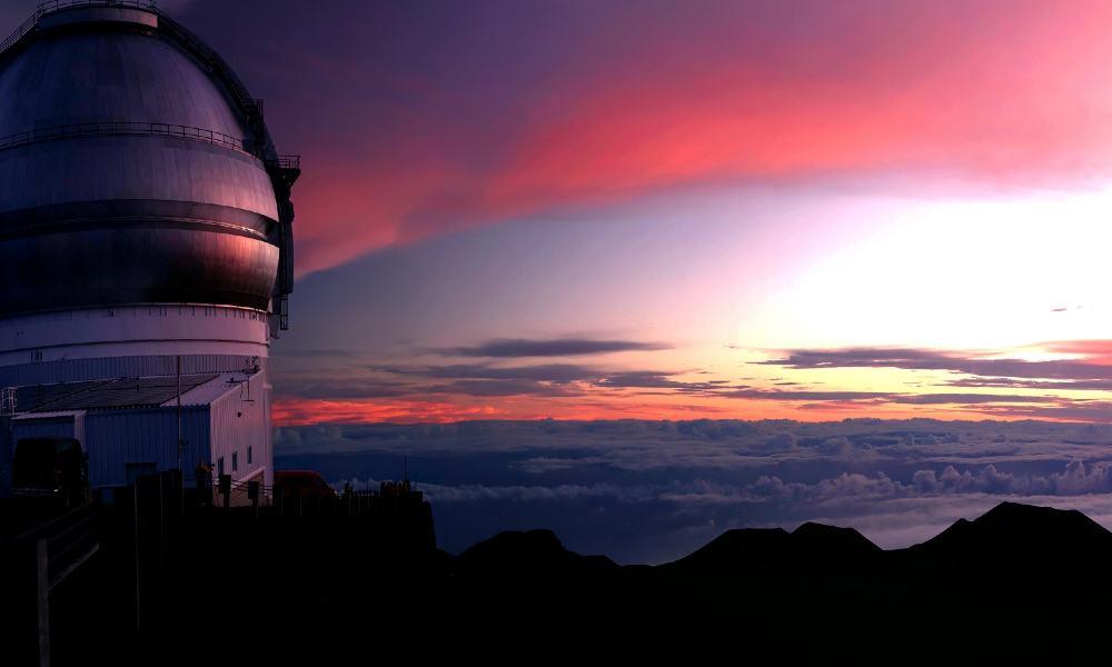 Observatorio en Mauna Kea. Foto: Josh Scholtens.