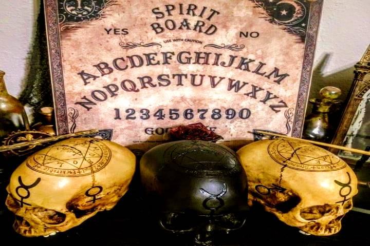 Ouija. Foto: Museo del Horror. Facebook
