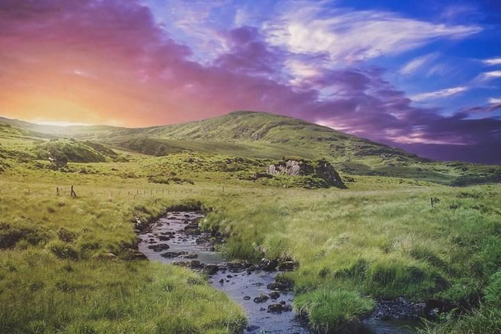 Paisaje de Irlanda. Foto Brin Weins.
