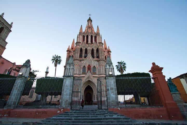 Parroquia San Miguel de Arcangel. Foto: De Paseo.