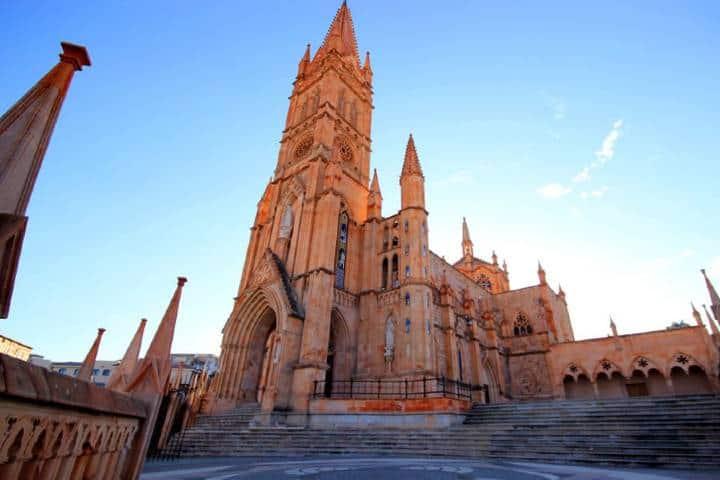 La hermosa Parroquia de la Virgen de Fátima. Foto: Turimexico