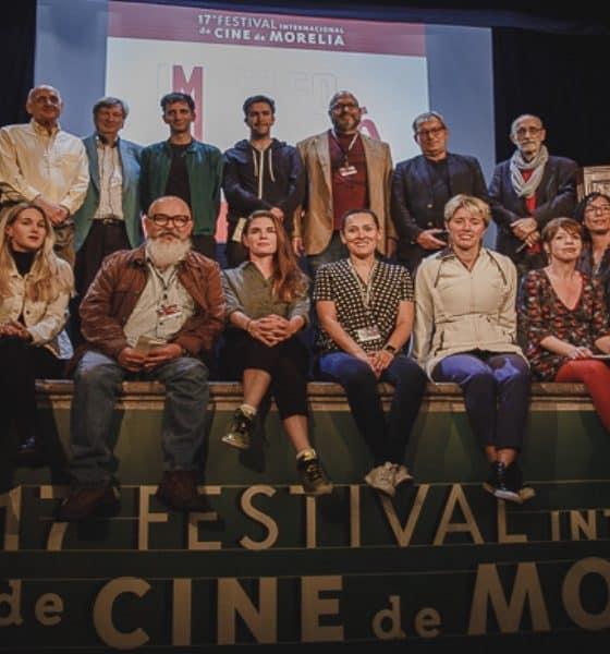 Participantes del festival Foto Festival Internacional de Cine de Morelia