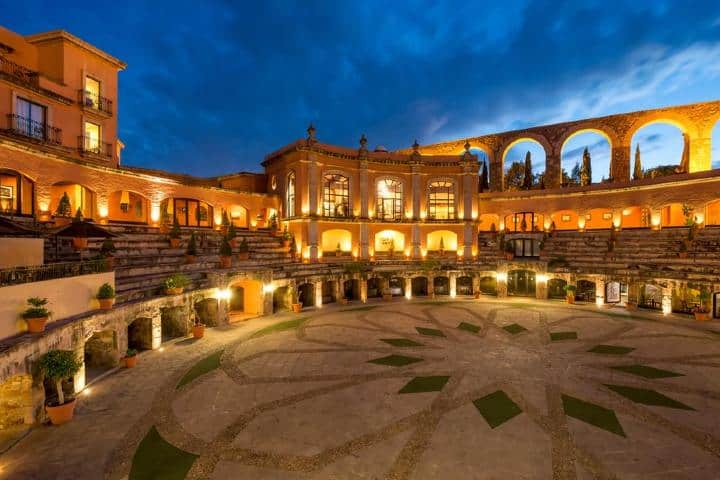 Patio Quinta Real. Foto: Booking.