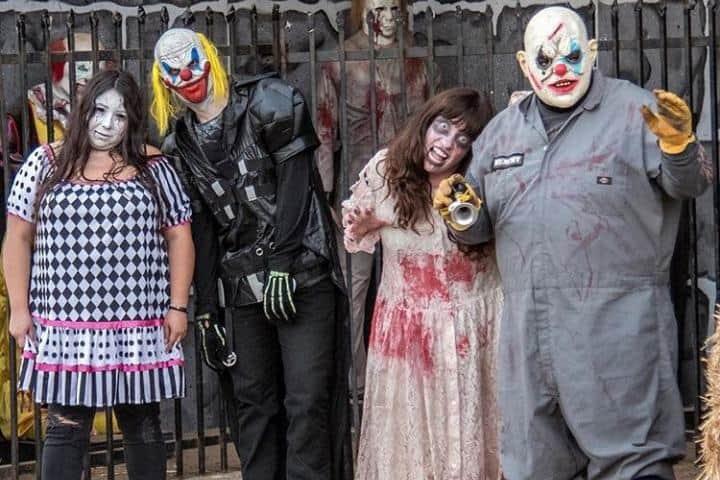 Personajes. Foto: Instagram The Scream Zone