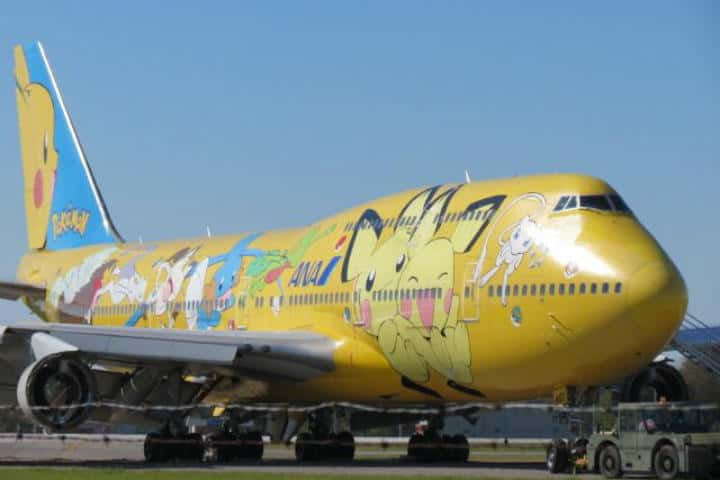 Pikachu por ANA- Foto airliners
