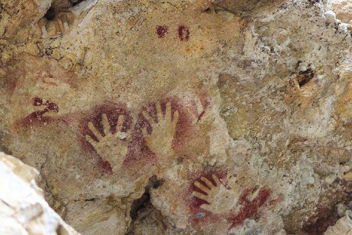 Pinturas rupestres que puedes encontrar en este increíble lugar. Foto_ SC