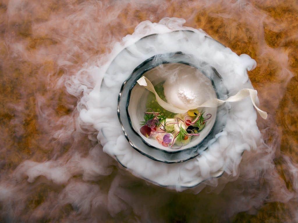 Platillo de Estrella Michelín del Chef Grant Achatz – Foto NY Times