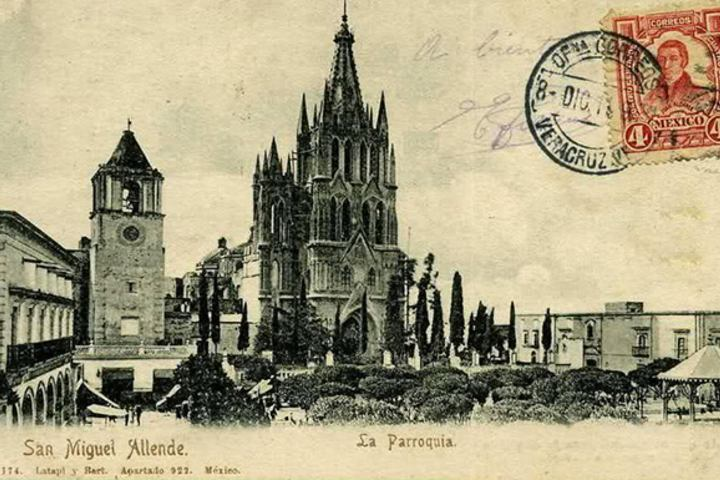 Esta es la postal de la cual se inspiró. Foto: News San Miguel.