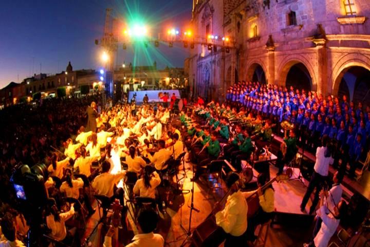 Preparan Festival de música Morelia. Foto: Diario de Palenque